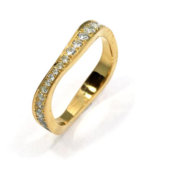 Damenring Ehering Silber Roségold Brillanten (250981)